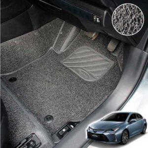 รีวิวพรมไวนิล พรมดักฝุ่น Toyota Altis 2020